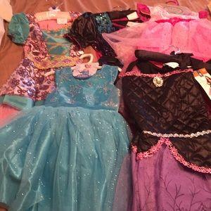 7 girls halloween costumes